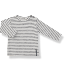 1+ in the Family YAGO LS T-Shirt 1  in the Family YAGO T-Shirt grey striped
