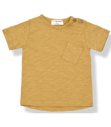 1+ in the Family JUDD SS T-shirt 1  in the Family JUDD SS T-shirt mustard