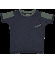 Kidscase Nick Organic T-shirt Kidscase Nick Organic T-shirt dark blue