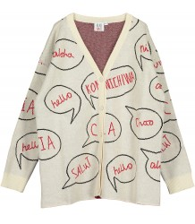 Beau LOves Oversized Knit Cardigan SPEECH BUBBLES Beau LOves Oversized Knit Cardigan SPEECH BUBBLES