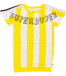 Noé & Zoë Basketball Dress YELLOW STRIPES Noe & Zoe Basketball Dress YELLOW STRIPES