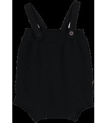 Mini Sibling Knit Short Romper w/Suspenders Mini Sibling Knit Body w/Suspenders