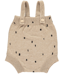 Mini Sibling Knit Body w/Suspenders CONFETTI Mini Sibling Knit Body w/Suspenders CONFETTI oatmeal
