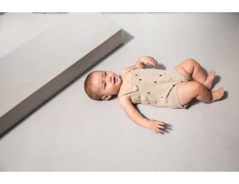 Mini Sibling Knit Body w/Suspenders CONFETTI