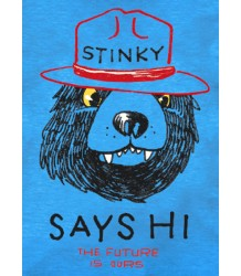 The Future is Ours Stinky Tee The Future is Ours Stinky Tee blue