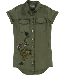 Zadig & Voltaire Kids Army Dress URBAN CIRCUS Zadig & Voltaire Kids Army Dress URBAN CIRCUS
