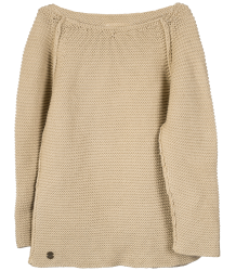 Little Hedonist BOET Knitted Sweater Little Hedonist BOET Knitted Sweater beige