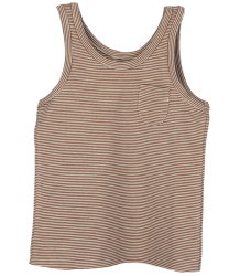 Little Hedonist LILY Tanktop STRIPE Little Hedonist LILY Tanktop brown stripe