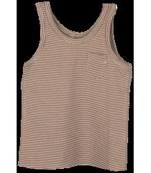 Little Hedonist LILY Tanktop STRIPE Little Hedonist LILY Tanktop brown stripe
