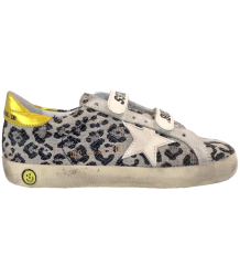 Superstar OLD SCHOOL Viola Leopard Golden Goose Superstar OLD SCHOOL VIOLA LEOPARD and CREAM STAR