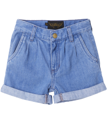 Finger in the Nose Marlie Loose Fit Denim Shorts Finger in the Nose Marlie Loose Fit Denim Shorts