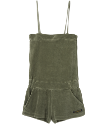 Finger in the Nose Liv Sleeveless Short Overall Finger in the Nose Liv Sleeveless Short Overall khaki