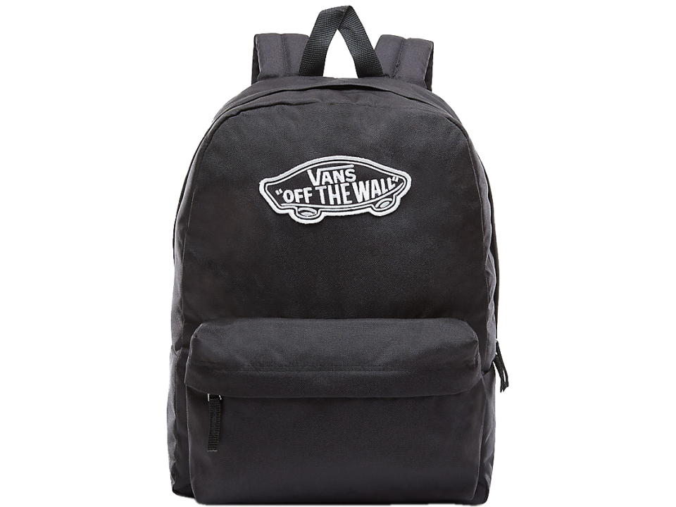 71b58c4fb8 Shop Black Vans Realm Backpack for Womens by Vans