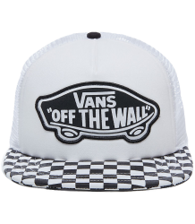 VANS Beach Girl Trucker Hat VANS Beach Girl Trucker Hat white, black, checkerboard
