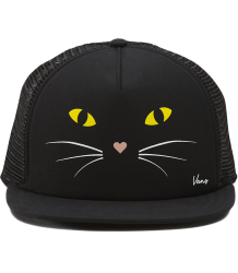 VANS Lawn Party Trucker Hat BLACK CAT VANS Lawn Party Trucker Hat BLACK CAT