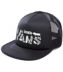 VANS Vans Logo Trucker Hat Kids GLOW IN THE DARK VANS Vans Logo Trucker Cap Kids GLOW IN THE DARK