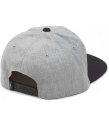 VANS Drop V Snapback Hat VANS Drop V Snapback Cap grey melange