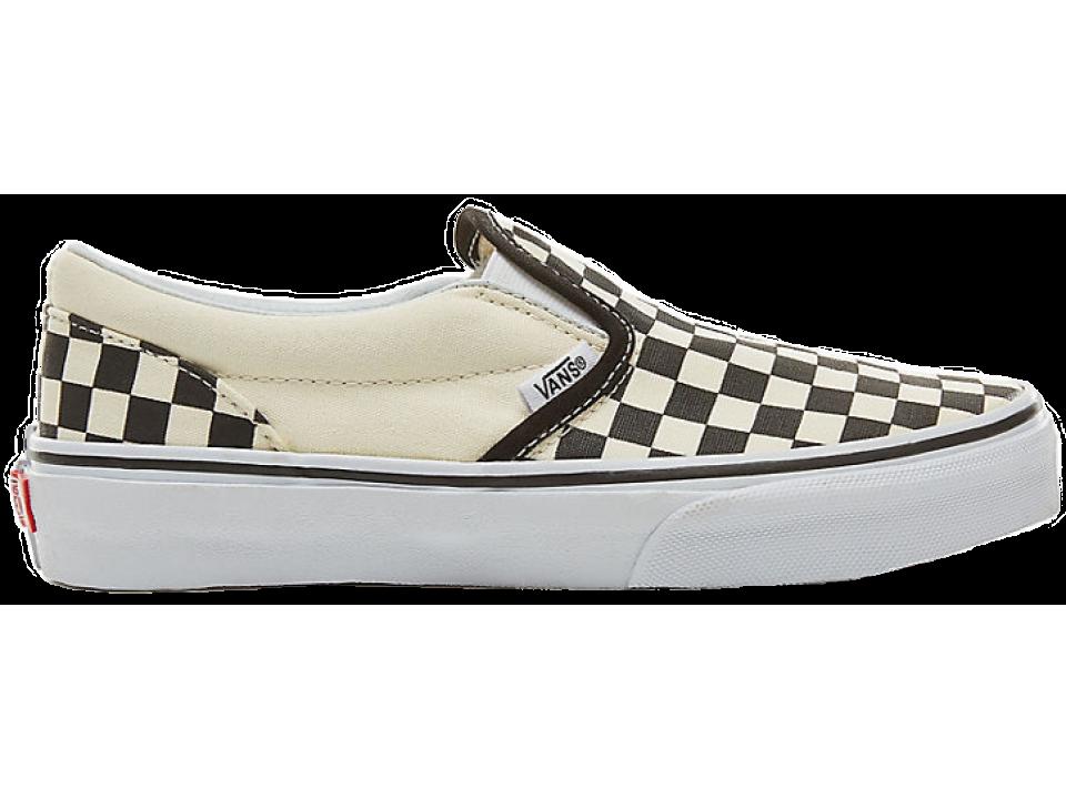 vans checkerboard slip on history
