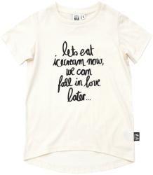 Little Man Happy ICECREAM Longline Shirt Little Man Happy ICECREAM Longline Shirt