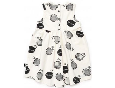 Little Man Happy LOVEBOMB Summer Dress
