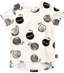 Little Man Happy LOVEBOMB Longline Shirt Little Man Happy LOVEBOMB Longline Shirt