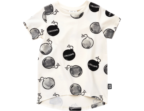 Little Man Happy LOVEBOMB Longline Shirt