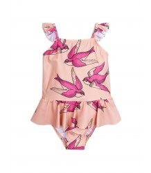 Mini Rodini SWALLOWS Skirt Swimsuit