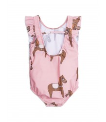 Mini Rodini HORSE Ruffled Swimsuit