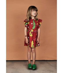 Mini Rodini VEGGIE Woven Ruffled Dress
