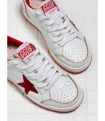 Golden Goose Sneakers BALLSTAR Golden Goose Sneakers BALLSTAR red