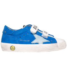 Superstar OLD SCHOOL electric blue suede Golden Goose Superstar OLD SCHOOL electric blue