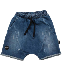 Nununu Denim Rounded Shorts Nununu Denim Rounded Shorts