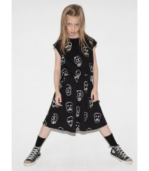 Nununu SKULL MASK Dress Nununu SKULL MASK Dress black