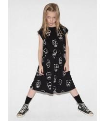 Nununu SKULL MASK Dress Nununu SKULL MASK Dress black