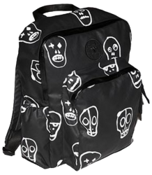 Nununu SKULL MASK Hooded Backpack Nununu SKULL MASK Hooded Backpack