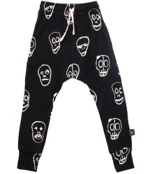 Nununu SKULL MASK Baggy Pants Nununu SKULL MASK Baggy Pants black
