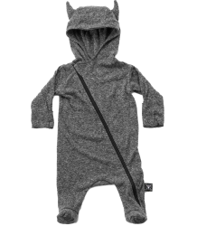 Nununu VIKING Footed Overall Nununu Viking Footed Overall charcoal