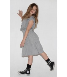 Nununu APRON Dress Nununu SKULL MASK Footed Overall grey