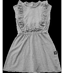 Nununu APRON Dress Nununu SKULL MASK Footed Overall grey