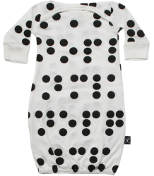 Nununu BRAILLE Sleepsack Nununu BRAILLE Sleepsack white