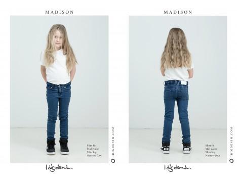 I DIG DENIM Madison Jeans STRIPE