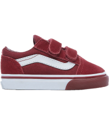 VANS Old Skool V Toddlers Mono Bumper VANS Old Skool V Toddlers Mono Bumper cabernet