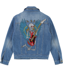 Zadig & Voltaire Kids Denim Jacket ANGEL Zadig & Voltaire Kids Denim Jacket ANGEL