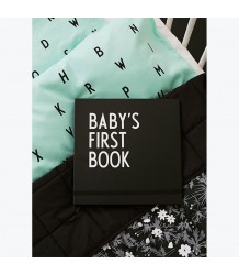 Design Letters Baby's First Book Design Letters Baby's First Book black and white