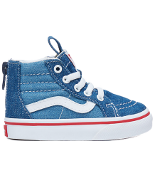 VANS SK8-Hi Zip Toddlers 2-TONE DENIM VANS SK8-Hi Zip Toddlers 2-TONE DENIM