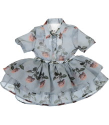 Caroline Bosmans Della Catessen Dress Organza FLOWERS Caroline Bosmans Della Catessen Dress Organza FLOWERS