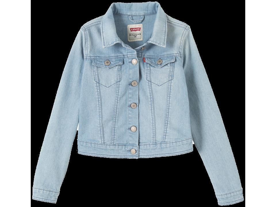 58c87045 Levi's Kids Girls Trucker Jacket - Orange Mayonnaise