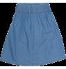Popupshop Moon Skirt LIGHT DENIM Popupshop Moon Skirt LIGHT DENIM