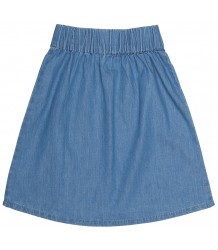 Popupshop Moon Skirt LIGHT DENIM Popupshop Moon Skirt LIGHT DENIM