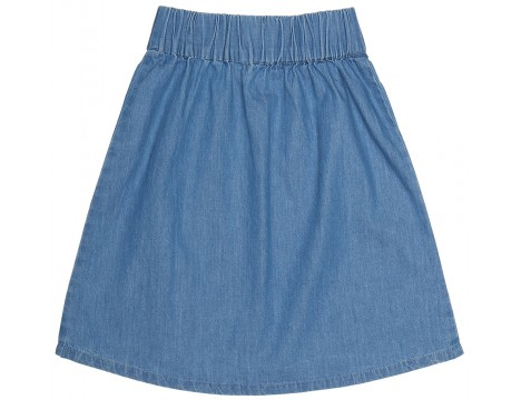 Popupshop Moon Skirt LIGHT DENIM